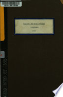 A Catalogue of the College of William and Mary in Virginia
