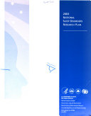 2003 National Sleep Disorders Research Plan