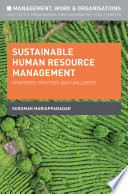 Sustainable Human Resource Management Book