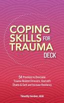 Coping Skills for Trauma Deck