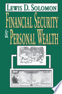 Financial Security and Personal Wealth