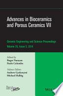 Advances in Bioceramics and Porous Ceramics VII