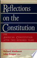 Reflections on the Constitution Book