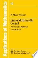 Linear Multivariable Control