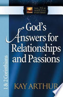 God s Answers for Relationships and Passions