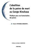 Pdf L'abolition de la peine de mort au Congo-Kinshasa Telecharger