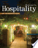 Welcome To Hospitality An Introduction Book PDF