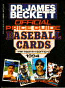 The Official Price Guide to Baseball Cards  1994