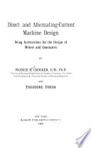 Direct- and Alternating-current Machine Design