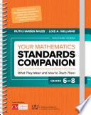 Your Mathematics Standards Companion Grades 6 8 Book PDF