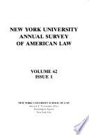 New York University Annual Survey of American Law