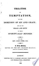 Treatise On Temptation Or The Dominion Of Sin And Grace