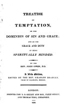 Treatise on Temptation, Or, The Dominion of Sin and Grace