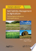 Soil Salinity Management in Agriculture
