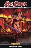 Red Sonja  She Devil With a Sword Vol  9  War Season