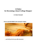 14 Rules for Becoming a Smart College Shopper