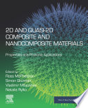 2D and Quasi 2D Composite and Nanocomposite Materials Book