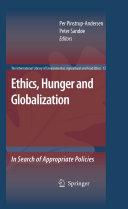 Ethics, Hunger and Globalization Pdf/ePub eBook