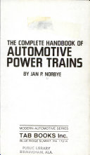 The Complete Handbook of Automotive Power Trains