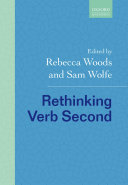 Rethinking Verb Second