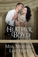 Miss Merton's Last Hope Book