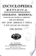 Encyclopedia metodica  : geografia moderna