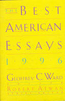 The Best American Essays 1996