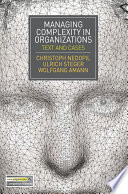Managing Complexity in Organizations Book PDF