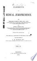 Elements of Medical Jurisprudence Book PDF