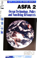 Aquatic Sciences and Fisheries Abstracts Book