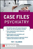 Case Files Psychiatry  Fifth Edition