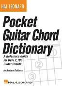 Pocket Guitar Chord Dictionary