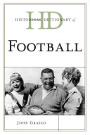 Historical Dictionary of Football