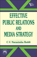Effective Public Relations And Media Strategy