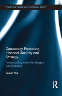 Democracy Promotion, National Security and Strategy Pdf/ePub eBook