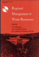 Regional Management of Water Resources
