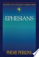 Abingdon New Testament Commentaries Ephesians