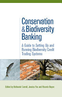 Pdf Conservation and Biodiversity Banking Telecharger