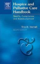 Hospice And Palliative Care Handbook Book PDF