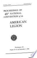 Proceedings of     National Convention of the American Legion Book PDF