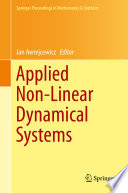 Applied Non Linear Dynamical Systems Book PDF