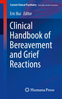 Clinical Handbook of Bereavement and Grief Reactions [Pdf/ePub] eBook