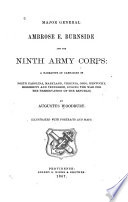 Major General Ambrose E  Burnside and the Ninth Army Corps