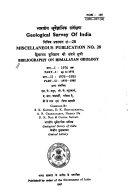 Bibliography on Himalayan Geology