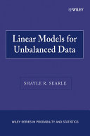 Linear Models for Unbalanced Data