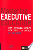 Mastering Executive Education