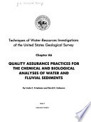 Techniques of Water resources Investigations of the United States Geological Survey