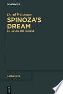 Spinoza   s Dream
