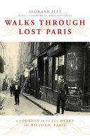 Pdf Walks Through Lost Paris