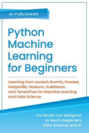 Python Machine Learning For Beginners Book PDF